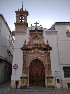 "Portada Iglesia de las Angustias. !""Escuela"" barroca de Priego"